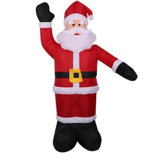 Christmas Decorations 2.4M Giant Santa Claus LED Light Inflatable Toys Props Birthday Wedding Party Lawn Yard Outdoor Decoration AU Plu