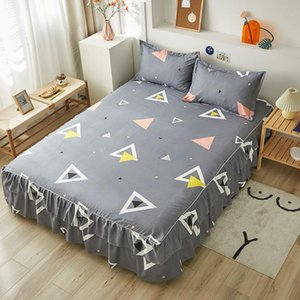 Sheets & Sets Healthy Environmentally Friendly Comfortable Breathable Bed Skirt One Piece Of Dust-proof Non-slip Sheet Exquisite