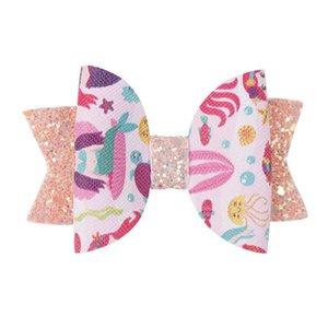 3 polegadas Flamingo Girl Girl Clipes Jojo Siwa Bows Bebê Hairclips Kids Designer Acessórios De Cabelo Arcos Barrettes Crianças Cabelo Clipes FJ830