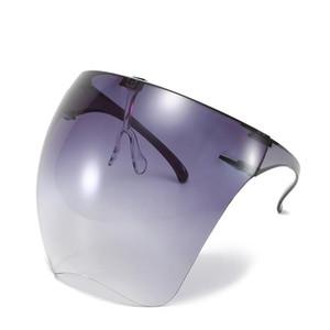 Nuevas gafas de sol Hombres Mujeres Faceshield Gafas protectoras Color de caramelo Gafas de seguridad Anti-Spray Máscara Protectora Gafas Solillas Sol