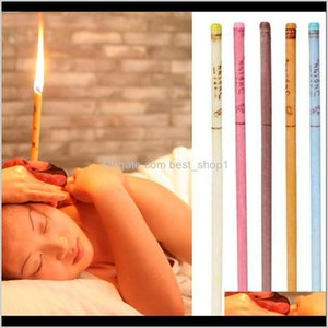 Indian Therapy Ear Candle Natural Aromatherapy Bee Wax Auricular Therapy Ear Candle Coning Brain Ear Care Candle Sticks Rxkc4 Hgunu