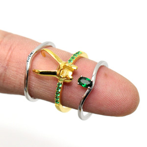 925 Sterling Silver Helmet Avenger Charm Superhero Jewelry Loki Ring Valentine's Day Gift Unisex Us 6 7 8 9 10 11 12#