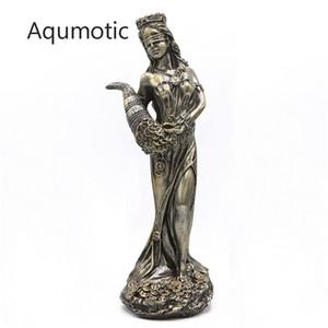 Aqmotic Wealth Goddess Plouto Money Mascot 1PC Décoration Pour Maison Magasin Femmes Mythe God Ploutos Décor d'environ 28cm Y200104