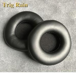 70mm Leather Ear Pads For Sony Headphones Mdr-xb450ap Black Foam Pad 7cm Headphone Sponge Covers Earpads Cushion Rep jllZtY