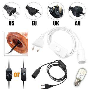 NEW Power Dimmer Black DIY Replacement Parts ON OFF Cord Himalayan Salt Lamp Light Modulator 1.7M Electric