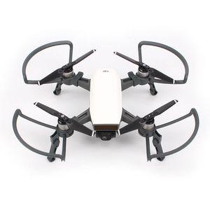 Guardias de la hélice + equipo de protección de los engranajes de aterrizaje plegable para DJI Cámara de chispa Accesorios de drones