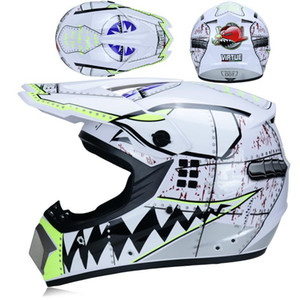 Professional Dirt Bike Helmet 3 Free Gift Motocross Motor Downhill Racing Cascos Para Moto Full Face Off Road Motorbike Helmet