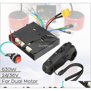 24-36 V Elektrikli Kaykay Kontrol Kurulu + Çift Motor ESC için Uzaktan Kumanda Kumanda Yedek Parça Scooter Paten Kurulu Aksesuarları Caiyw OR42M
