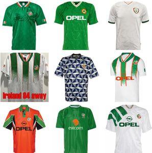 1992 Ирландия Ретро Футбол Джерси 1990 Главная Классический Винтаж Ирландский Шеди 1994 1995 1996 Выездные футболки 1998 г. McGrath Keane 90 92 94 96 98 Houghton Aldridge