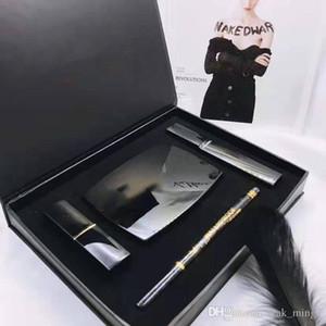 New Dropshipping 4 in 1 makeup set Kollection matte lipstick eyeliner face powder mascara eye liner makeup set Free Shipping