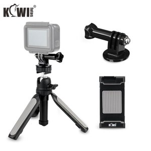 Tripods Mini Tabletop Tripod Kit Handheld Hand Grip Smart Phone Clip Mount Adapter For Action Cameras DSLR Mirrorless