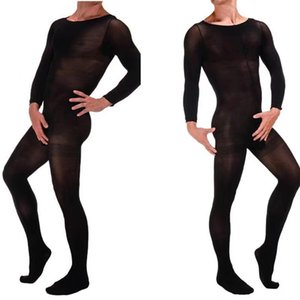Sexy Tights sexy lingerie hose hot Men's Hosiery black Stockings intimate Underwear teddy costumes porno hose bodysuit