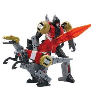 Bmb New 6 in 1 Transformation 5 Movie Toys Anime Devastator Dinosaur Action Figure Robot Model Kid Boy Toy Birthday Gifts