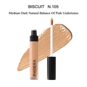 Originale Phoera Liquid Concealer Stick Cicatrici da acne Cover ACNE Smooth Coverage Foundation Makeup Face Eye Dark Circles Corrector