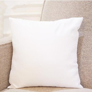 45 * 45cm Sublimazione Sublimazione Pillowcases Fodera FIDA DI TE COPERCHIO PER TRASFERNO DI CALORE Casi Blank Blank Throw Pillow