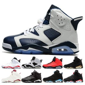 ty Basketball Shoes 6 Sneakers 6s for Sports Mens Olympic White Infared Oreo Angry Bull Dmp Marron Black Cat Sports Shoes