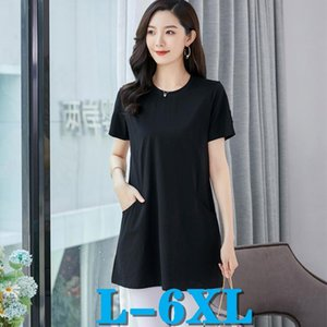T Shirts Women Fashion Woman Tshirts Casual Tops Women Tees Plus Size Clothing Top Free Shipping 6XL Women's t-shirts Summer Tee