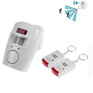 استشعار المنزل الذكي إنذار صغير التحكم عن بعد مع جهاز كشف الحركة الأشعة تحت الحمراء 105DB صفارات الإنذار بصوت عال للأمن مكافحة السرقة