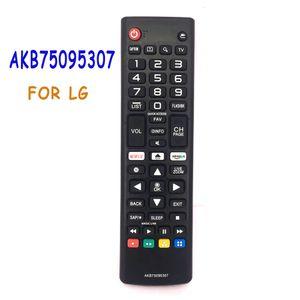 AKB75095307 LCD LED HDTV TV için Yedek Akıllı TV Uzaktan Kumanda LJ UJ Serie LG 3D Akıllı TV 32LJ550B 55LJ5500 AKB75095303 Netflix