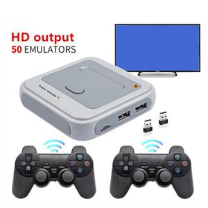 Super Console X HD 4K HDTV Output 64G Mini Portable Game Player Games Console Arcade Kids Retro Game Emulator Simulator 30000 Plus Games
