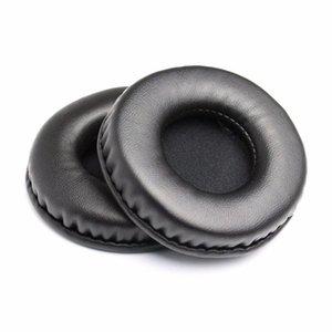 80mm Leder Foam Ear Pads für Kopfhörer Cojines Almofada Almofadas Pad Kopfhörer Ohrpads Kissen Ersatz Ohrpads Jlltmt