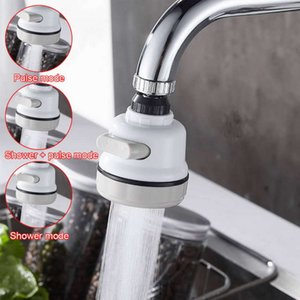 Pressurized Mixer Aerator Kitchen Faucet Tap Adjust 360 Rotate Water Saving Filter Faucet Nozzle For Faucets Spray Head Faucet Accessories