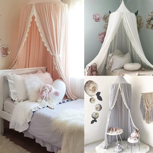 Mosquito Net Kids Baby Bed Canopy Bedcover Curtain Bedding Dome Tent Cotton