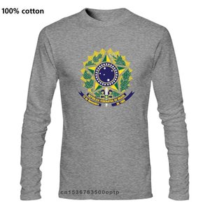 Brazil Brasil Coat Of Arms Brazilian Emblem Cruzeiro Do Sul Pride MenT Shirt