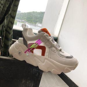 Summer Women Platform Sandals Chunky Casual Shoes Designers Mesh Comfortable Old Dad Shoes Tennis Female Basket Woman Sandal