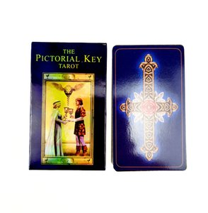 THE PICTORIAL KEY Oracles Card Divination Fate Tarot Deck With English PDF Guidance Gift Board Game for Adult sJFU2
