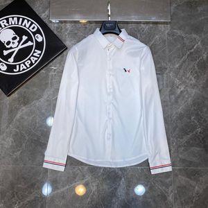 2021 New Brand Shirts Polo Uomo Abbigliamento Abbigliamento manica lunga Top Primavera Fall Homme Casual Designer di lusso Cardigan Abbigliamento moda uomo Jkaw