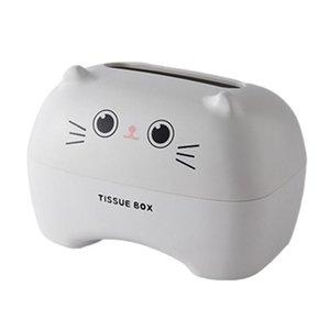 Tissue Boxes & Napkins Office Restaurant Detachable Tablet Holder Home Organizer Rectangular Shape Cartoon Box Bedroom El Easy Replace Schoo