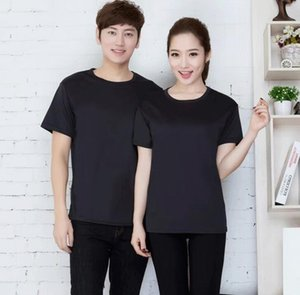 mesh quick-drying round neck short-sleeved T-shirt adult quick-drying mesh round neck adult