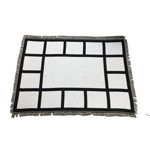 Panel de sublimación Manta blanca Mantas en blanco para la alfombra de sublimación Mantas cuadradas para sublimación Theramal Transfer Funcion Rug DHF5503
