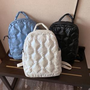 2021 최신 겨울 여자 아래로 팩 공간 코튼 가방 어깨 가방 다재다능한 디자인