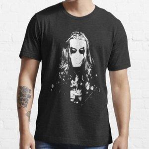 Mayhem Black Metal Dead por YNGVE Ohlin Funny T Shirt Formal Primavera Otoño Fitness Divertido Diseño de camiseta Streetwear Camisa L0223
