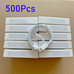 500pcs / lot 7 أجيال الأصلي كابلات جودة OEM 1M / 3FT 2M / 6FT USB مزامنة البيانات مزامنة كابل شحن مع حزمة