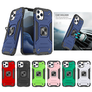 Newest Anti-shock Cell Phone Cases For iPhone 12 Mini Pro Max 11 kickstand Armor Mobile Phone Protective Cover
