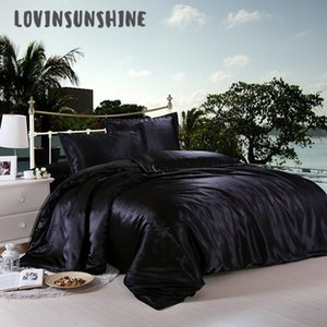 LOVINSUNSHINE Comforter Bedding Sets Luxury Bed Cover And Bedspreads Satin Bed Sheets AB#14 C0223