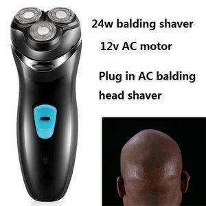 Electric Man Bald Head Shaver 3D Floating Rotary Razor Professional Balding Skull Clipper Baldhead Shaving Machine Men Cutter
