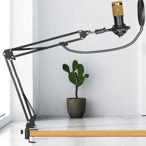 Microphones Professional Bm 800 Condenser Microphone Studio Recording Kits Bm800 Karaoke For Phone PC Mic Stand O4X6