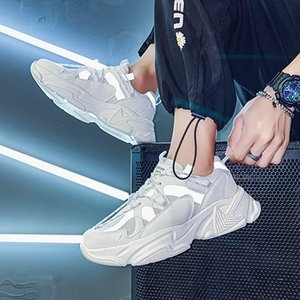 2021 Spring New Fashion Sneakers Mens Running Shoes High Quality Luxury Men Shoes Comfortable Breathable Men Sports Shoes