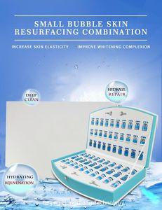 Hydra Facial Machine Acqua ossigeno Rejuvenation Set Acqua-olio Bilancia idratante Sbiancamento Sbiancamento Piccola bolla Salone di bellezza speciale