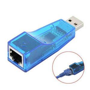 USB External RJ45 Ethernet to USB 2.0 LAN Network 10 100Mbps Card Adapter Converter PC Laptop