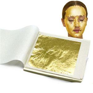 Masque de visage de beauté de beauté Face Beauty Masque de visage Gold Contenu 98 Véritable Feuille d'or 9.33 Masque de visage de beauté d'or