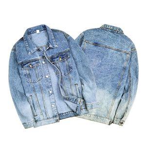Мужские куртки 2021 повседневная стройная мужская джинсовая куртка бомбардировщик высокого качества ковбой весенний джинс чатер гомбер стрит одежда одежды