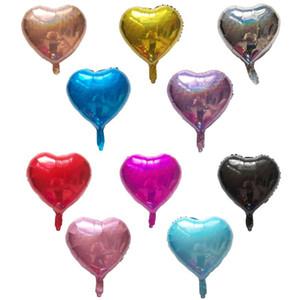 Laser starheart feuille balloons 18 pouces inflation hélium hélium ballon brillant anniversaire mariage fête fête fête décoration scintillant ballon