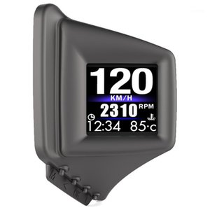 자동차 HUD 헤드 위로 디스플레이 OBD2 + GPS 속도계, 모든 차량, AP-11에 대한 빠르게 테스트 루프 스피드 알람