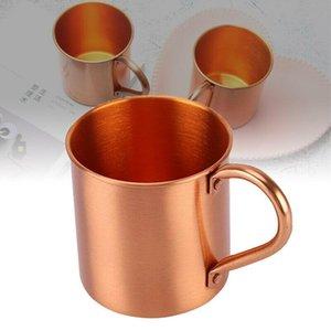 Caneca de cobre pura Cup Coppery Coppery Handcrafted Durável Moscow Copo de Cocktail para Restaurante Bar Bebida Cozinha De Party
