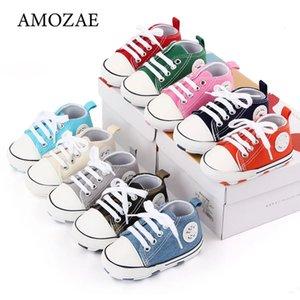 Nieuwe Baby Canvas Sneaker Voor Pasgeboren Sport Schoenen Voor Baby Jongens Meisjes Baby Peuter Zachte Bodem Anti-Slip Eerste wandelaars_xm